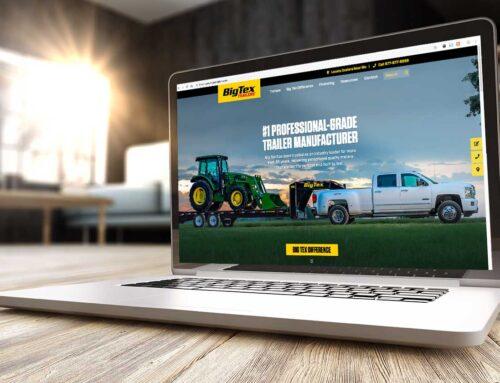Big Tex Trailers Website