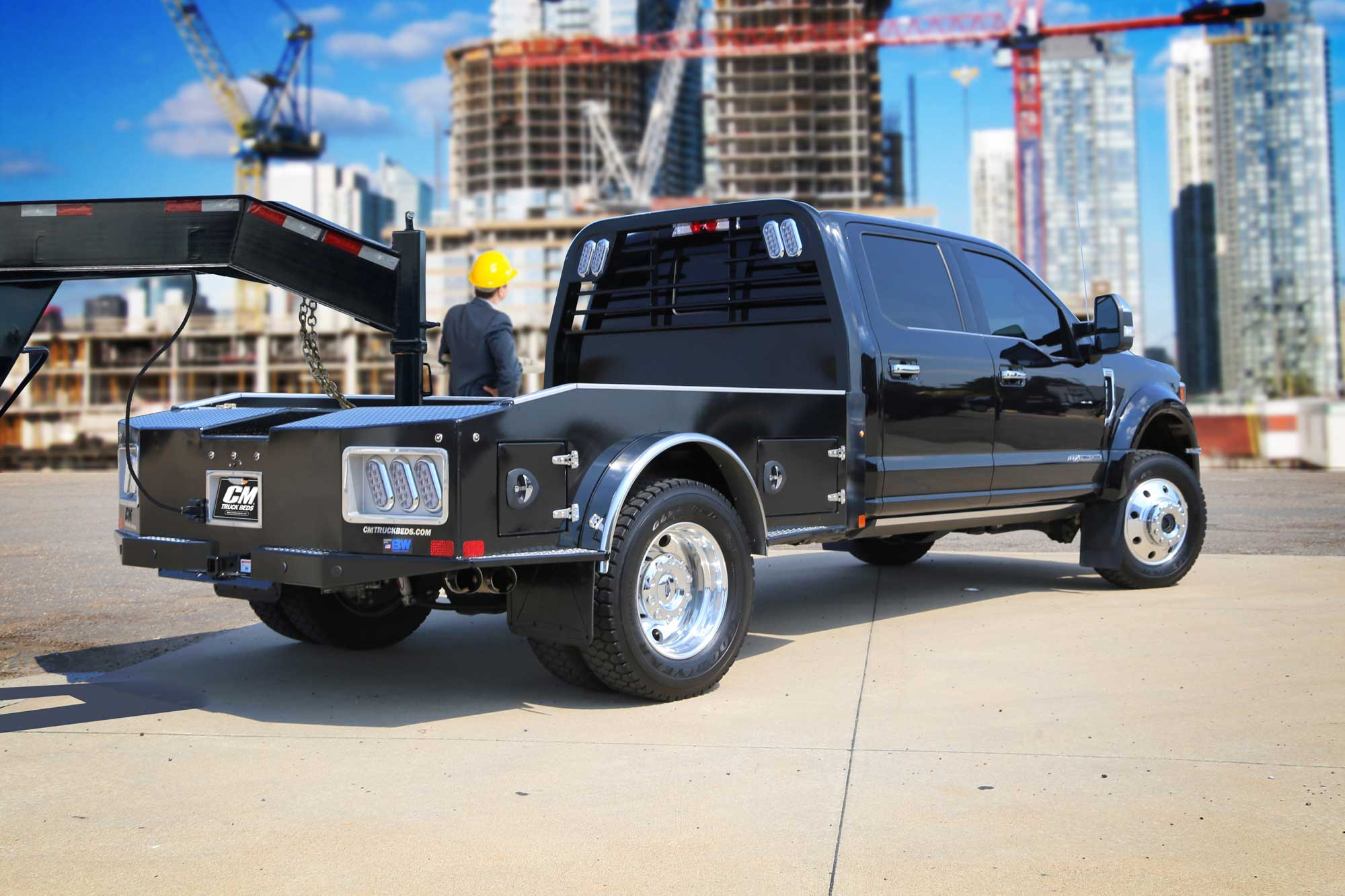 CM Truck Beds Flat Bed