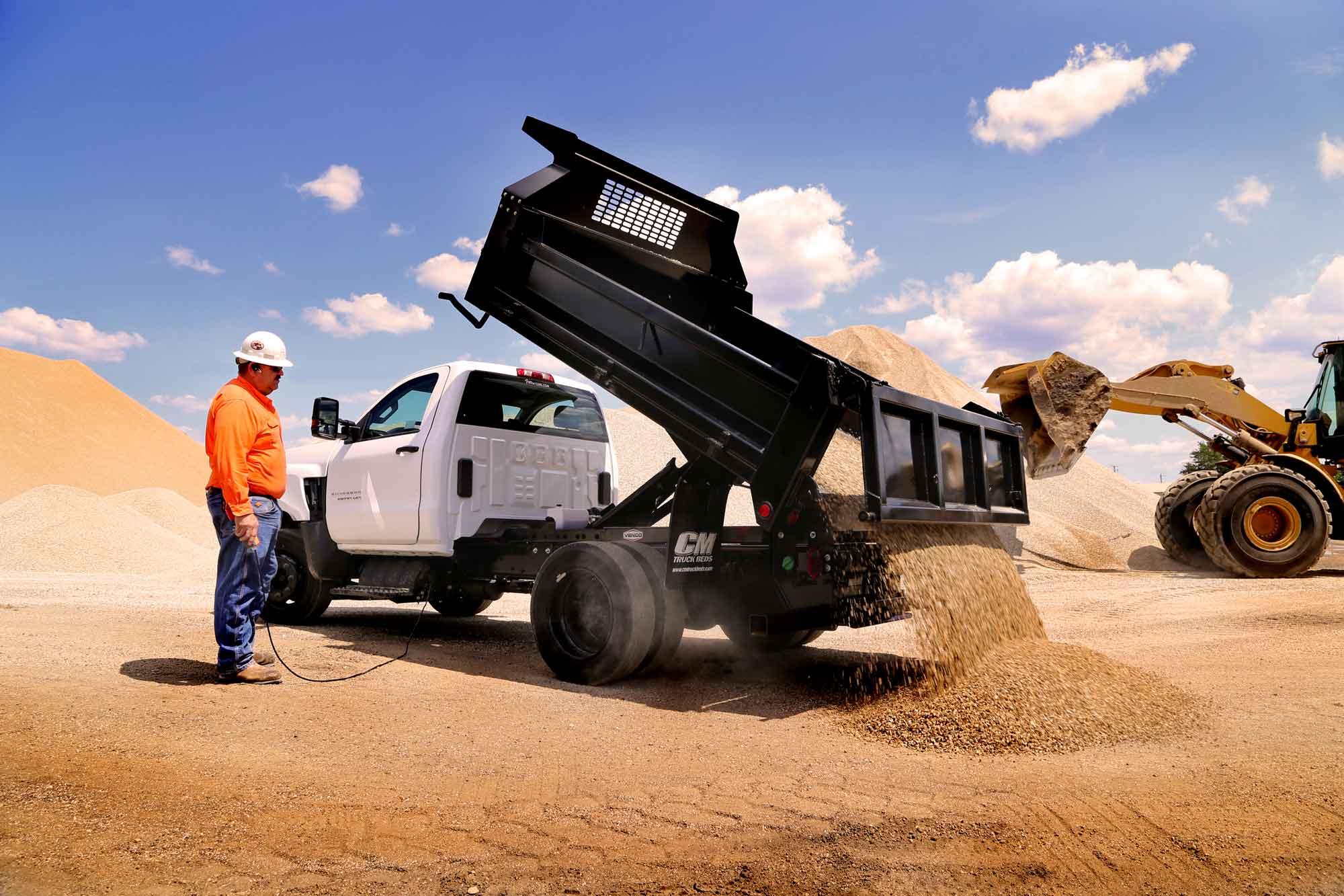 CM Truck Beds Dump Truck