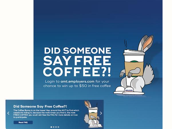 Coffee Bunny ads