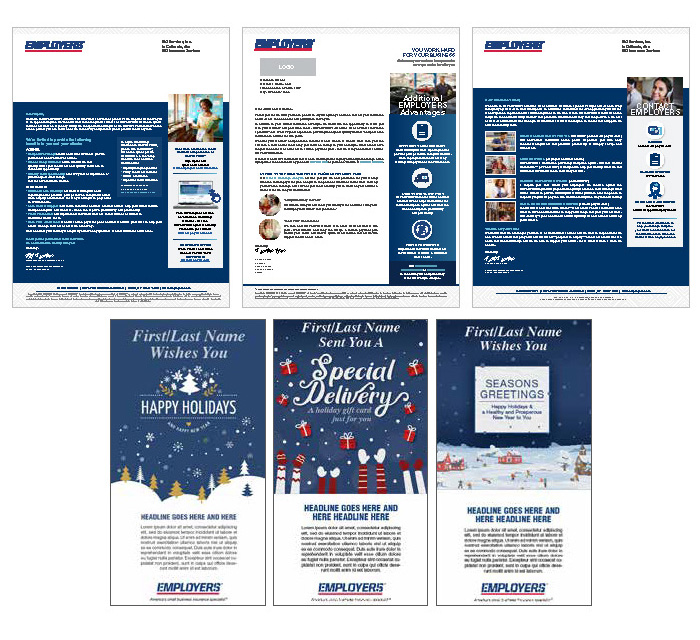 AMT Letters and Newsletters layout out together