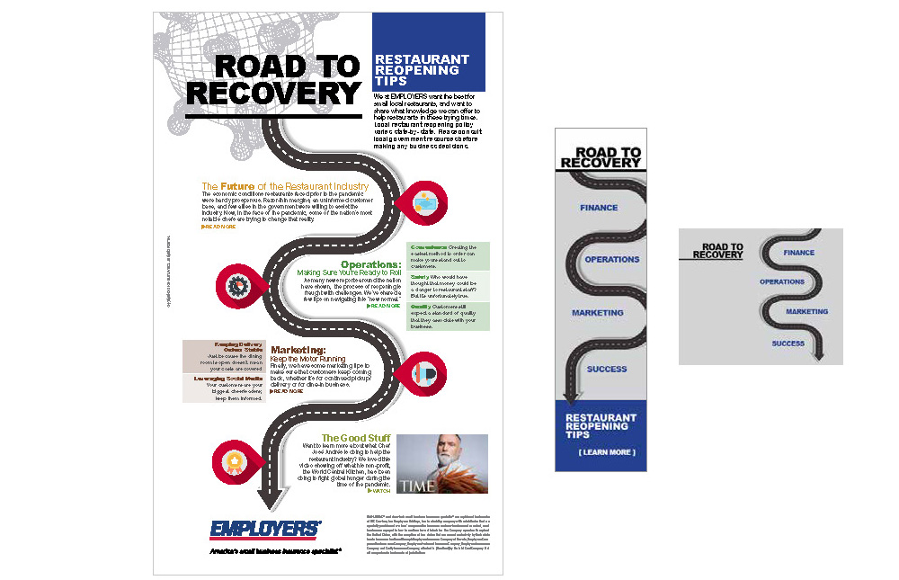 Road to Recovery infographic